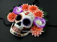 Mexican Día De Muertos Masquerade Ball Mask Day Of The Dead Costume Wall Deco