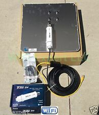 ALFA APA-L2419 19dBi + TUBE 2H PoE Cat5e Outdoor Booster CABLE GET FREE INTERNET