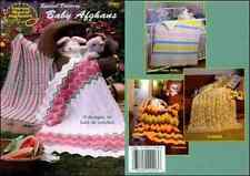 Special Delivery Baby Afghans Knit and Crochet Pattern - 9 Designs