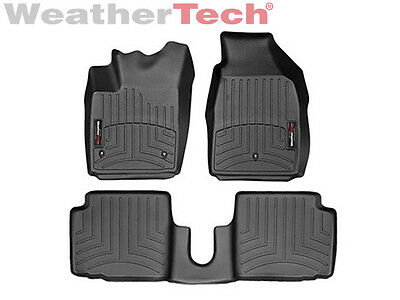 WeatherTech FloorLiner for Fiat 500 - 2011-2017 - Black