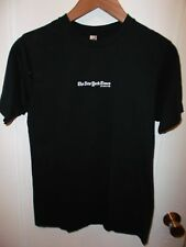 New York Times NYT Newspaper Magazine Dot Com Website Black Logo T Shirt Medium