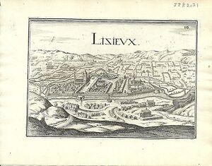 Antique-map-Lisieux