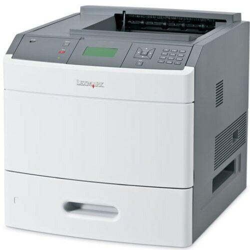 Lexmark T654DN Laser Printer Comes with NEW FUSER INSTALLED and new p//u rollers