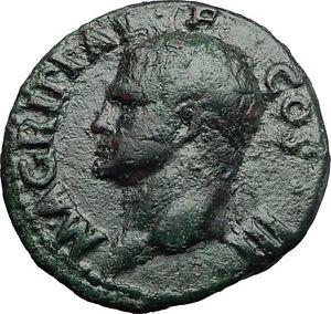 Marcus-Vipsanius-Agrippa-Augustus-General-Ancient-Roman-Coin-by-CALIGULA-i58015