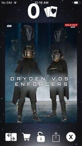 Topps Star Wars Digital Card Trader Green Dual Perceptions Inquisitor Sig Insert