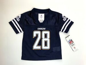 buy online 154c6 15c9c Details about Los Angeles Chargers Licensed Melvin Gordon #28 Jersey 18 Mos  Blue NWT Football