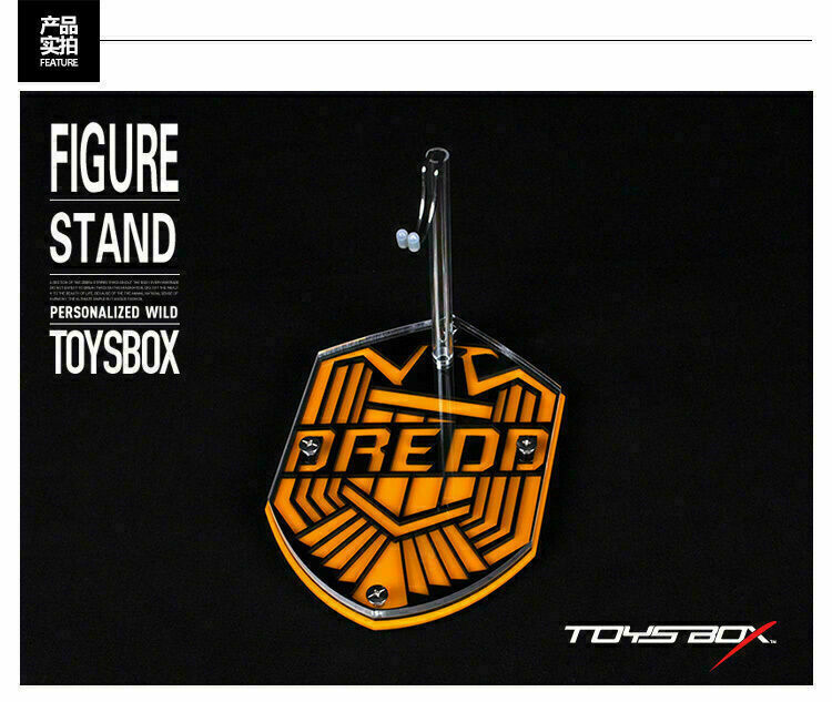 TOYS-BOX 017 1 6 Display Stand Base  Topic Platform Display F 12  Judge Dredd Fi