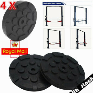 4Pcs Dia 120mm Durable Heavy Duty Round Rubber Arm Pads for Car Lift Accessories