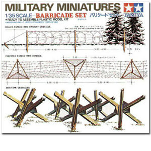 TAMIYA-35027-Barricades-1-35-Military-Model-Kit