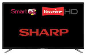 Sharp-LC-32CHE6131K-32-034-Widescreen-LED-Smart-TV-720p-HD-Ready-with-Freeview-HD