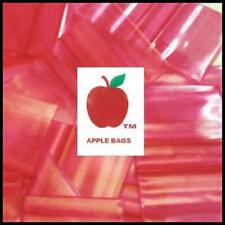 Red 1000 Apple Brand Baggies 1034 2mil Ziplock 1000 Plastic 1 X 34 Mini Bags