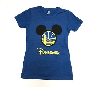 33064149caaf1 Image is loading Womens-Dubsney-Disney-Shirt-Mikey-Ears-Disneyland-Golden-
