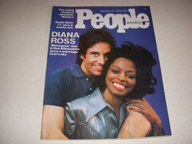 PEOPLE Magazine, January 26, 1976, DIANA ROSS Cover, DOROTHY HAMILL!