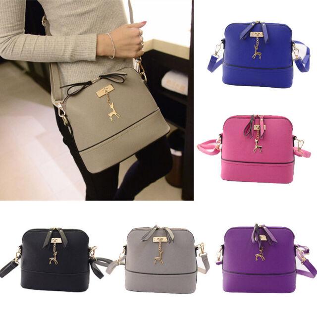 Fashion Women Leather Shoulder Bags Handbag Messenger Bags Casual Tote Bag Purse