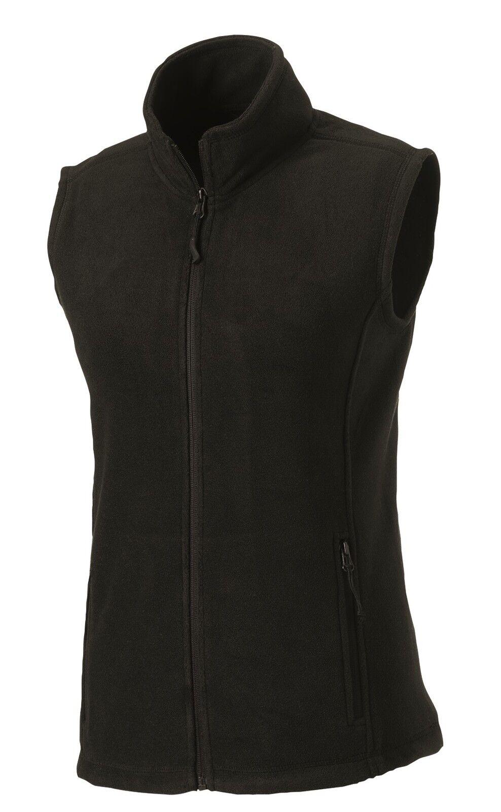 Russell Ladies Womens NAVY DARK or ROYAL MID BLUE Fleece Gilet Bodywarmer Vest