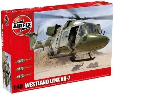 Reconnaissance helicopter westland army lynx ah1-7 - airfix 1 48 kit no. 9101