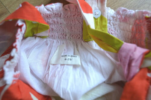 beach summer new  age 2 3 4 Mini Boden dress girls cotton flower print sun