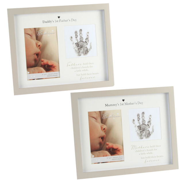 Mummys 1st Mother Day 4x6 Photo Frame CG1389 Bambino Handprint Frame