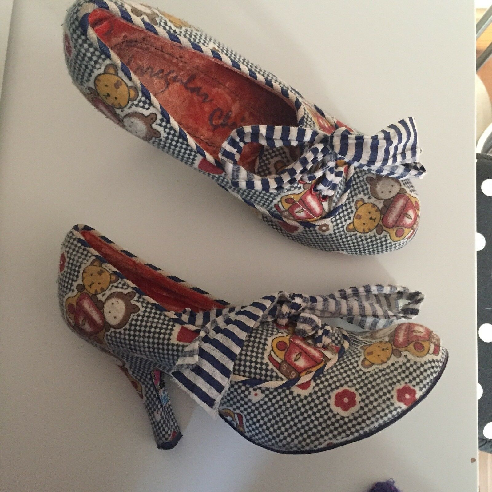 Irregular Choice UK Alphabite Teddy Kawaii Heels UK Choice 5 9875f8