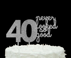 Image Is Loading 40 Never Looked So Good 40th Birthday Cake