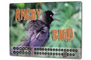 Perpetual-Calendar-Bird-G-Huber-Blackbird-Tin-Metal-Magnetic