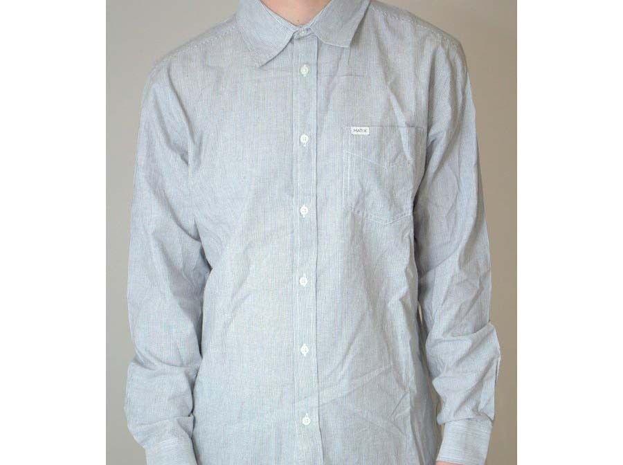 MATIX Gimme Woven Shirt (L) Grey