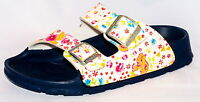 Birki Sandals By Birkenstock For Girls Strap Haiti Magic Flower White Narrow