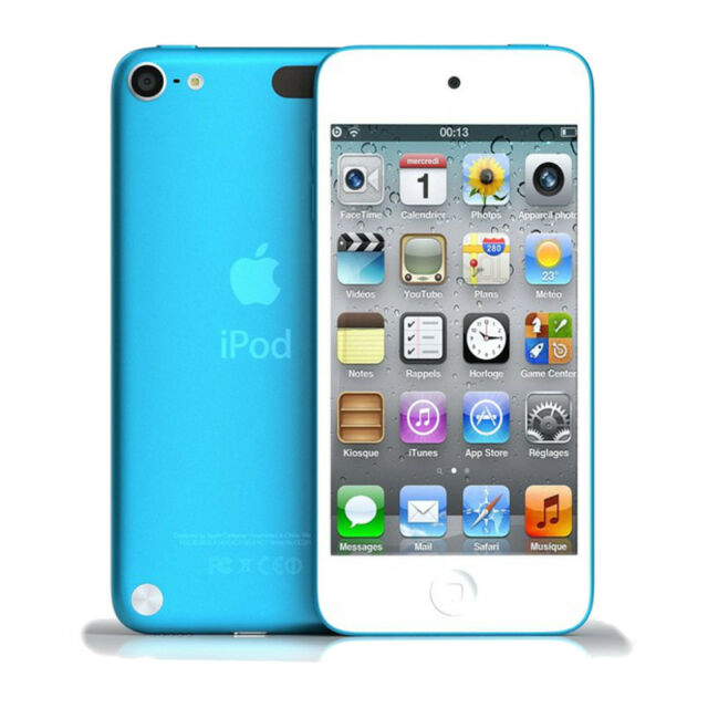 Apple iPodTouch 5th Generation 64GB BLUE Very Good Condition