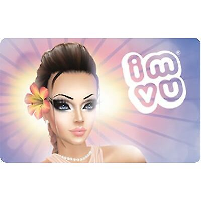 IMVU Gift Card - $10 $25 $50 - Email delivery