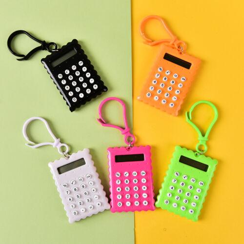 Gehäuse 8 Ziffern Elektronischer Mini Taschenrechner Schlüsselanhänger  G3DOOC