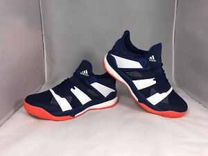 competitive price 200a7 0afef Details about Adidas Stabil X Indoor Handball Volleyball Shoes Size 7 AC8561
