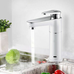 Electric Tankless Faucet Instant Water Heater Hot&Cold Mix Kitchen ...