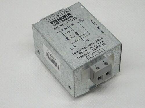 Murr Elektronik 10 215 Netzfilter 10215 250V 10A
