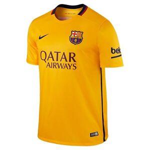 A imagem está carregando Nike-Fc-Barcelona-Temporada-2015-2016-embora-Camisa - 7bfc1aa9d51c2