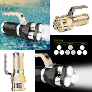 Rechargeable-LED-Searchlight-Tactical-Flashlight-Spotlight-9000-Lumen-Torch-Ligh