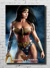 Cat Woman Halle Berry DC Superhero Movie Fabric Decor Poster B70