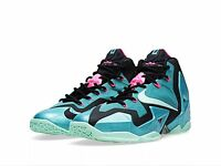 Brand Lebron Xi 11 South Beach Turquoise Green Mint Black 616175-330 10.5