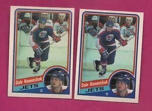 1984-85-OPC-339-JETS-DALE-HAWERCHUK-NRMT-MT-CARD-INV-A4331