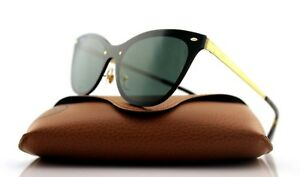 1a2d473f3c6 NEW Authentic RAY-BAN BLAZE CAT EYE Gold Green Classic Sunglasses ...