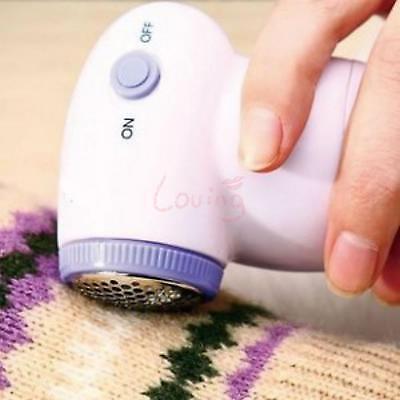 1 X Ergonomical Hand Fabrics Sweater Fuzz Shaver Clothes Lint Fluff Off Remover