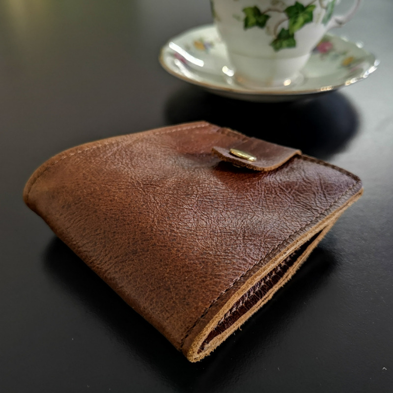 LUXURIOUS Genuine Leather Crazy Horse Sophisticated Wallet