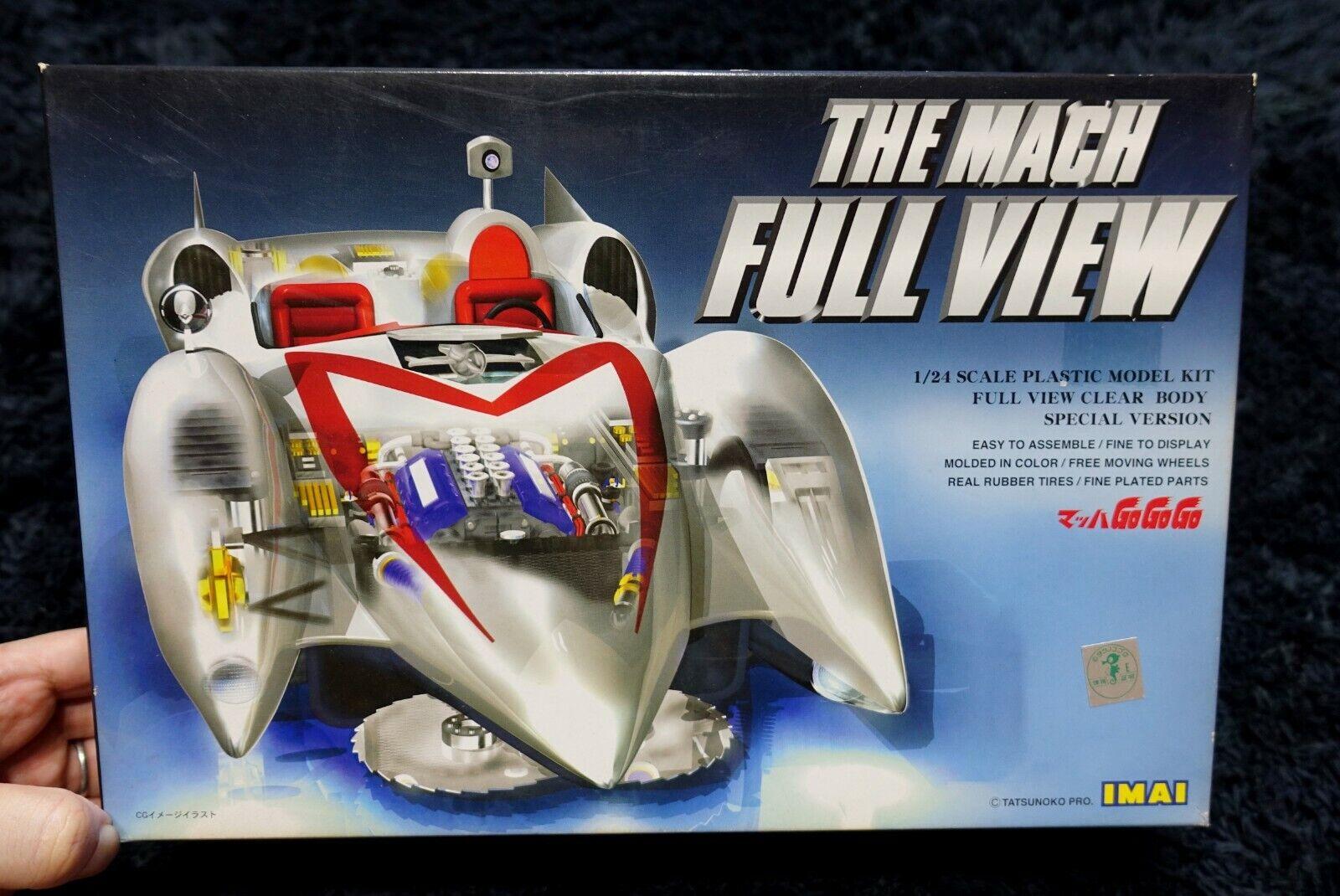 Speed Racer Mach GoGoGo THE MACH CLEAR BODY VERSION IMAI MODEL KIT