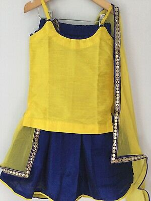Childrens Kids Girls Boutique Asian Indian Wedding Lengha Choli Anarkali Clothes Ebay,Womens Wedding Dresses Casual