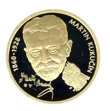 SLOWAKEI - 10 Euro 2010 - MARTIN KUKUCIN - SILBER - vergoldet (8674/187)