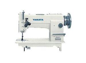 Yamata 0618 Needle Feed Walking Foot Upholstery Sewing Machine Head