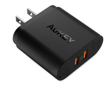 Quick Charge 3.0 AUKEY USB Wall Charger With Dual Ports for Samsung Galaxy Note8