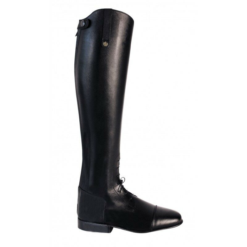 Königs riding boots Alex black LW 4 1 2 H48 W37 jumping boots with elastic lac