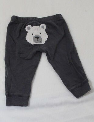 Baby & Toddler Clothing Lower Price with Carters Infant Boys Gray Sweatpants Size 6 Months Polar Bear Face On Butt Cleaning The Oral Cavity. Bottoms
