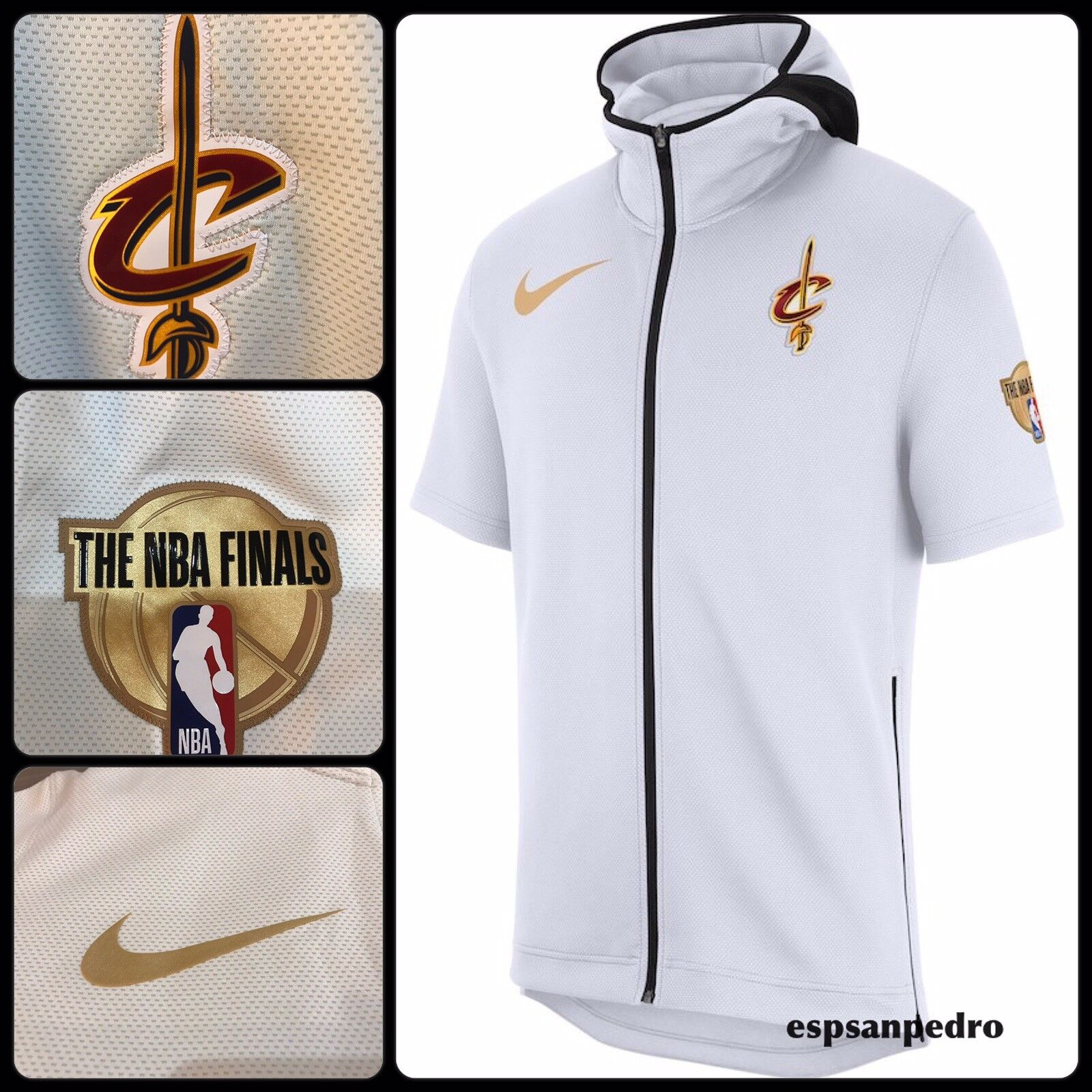 premium selection 2a838 6c80d Nike Cleveland Cavaliers 2018 NBA Finals Therma Flex Showtime Hoodie Size  Large