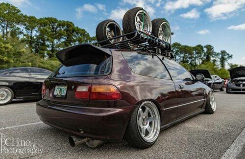 Osaka spoiler First Molding for Honda Civic Eg  92-95 Eg6 Spoon Sir Vti